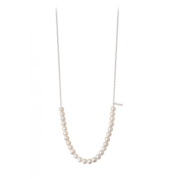 Rock my pearls perles blanches et or blanc