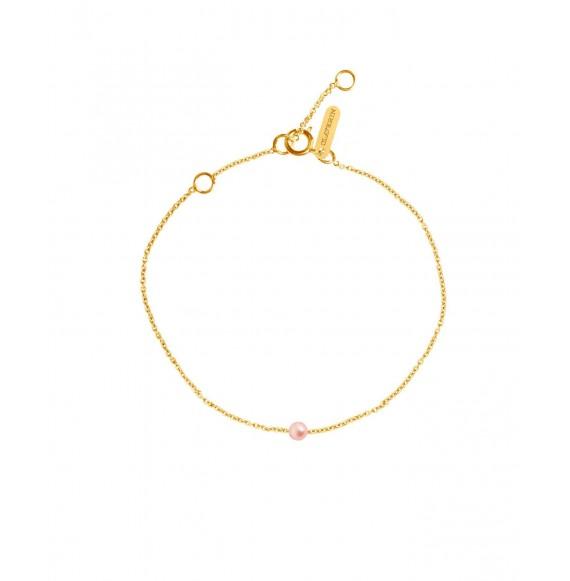 Bracelet Simply mini perle rose or jaune