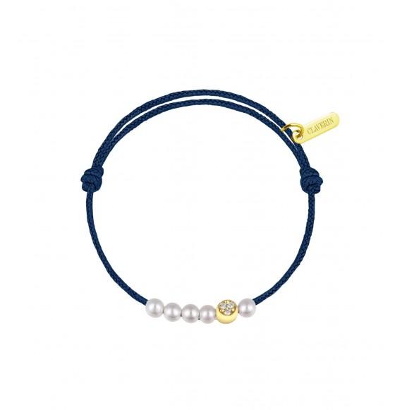 6 Little Diamond Moon bleu marine