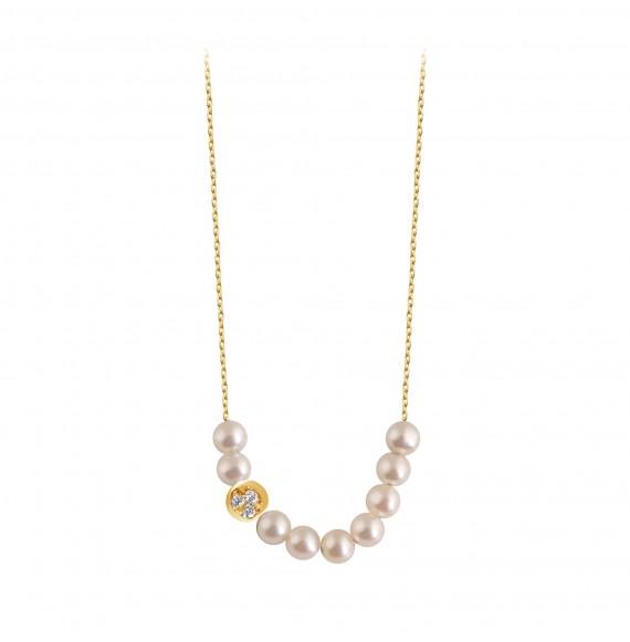 Collier pearl grape