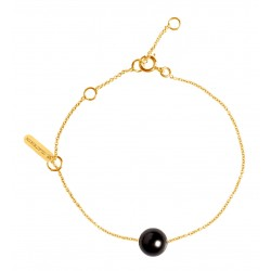 Bracelet Simply pearly perle noire