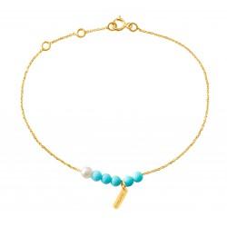 Bracelet Blue/Black Rosary