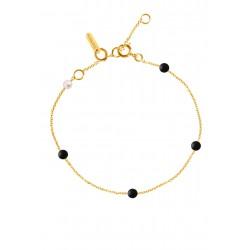Bracelet Blue/Black Give me 5