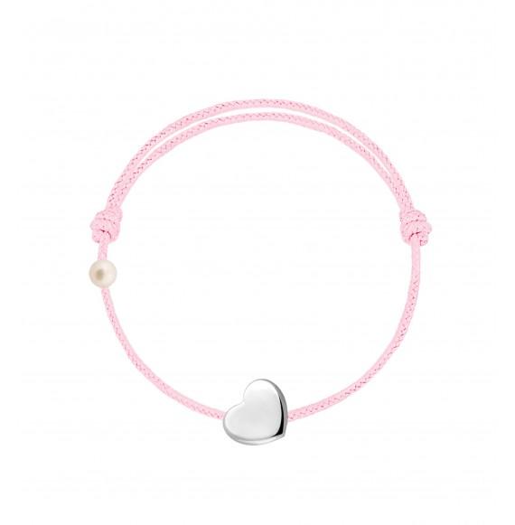 Le Coeur cordon baby rose