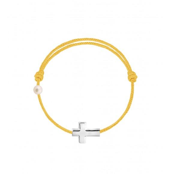 La Croix cordon moutarde