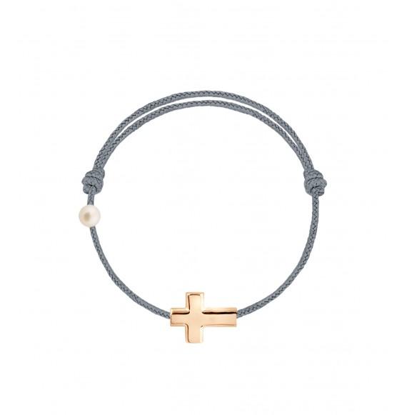 La Croix cordon gris cendré