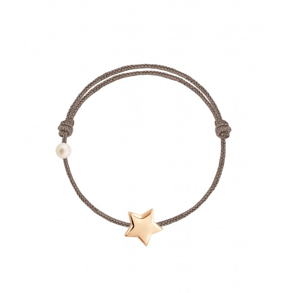 L'étoile cordon taupe