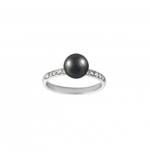 Bague Marry me perle noire