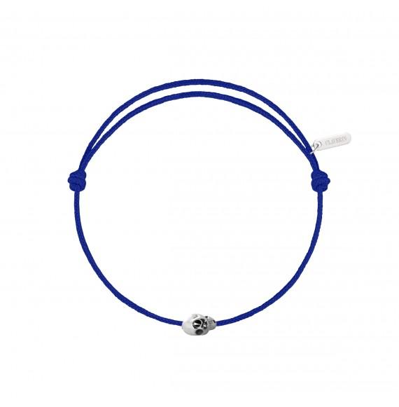 Gold Skull cordon bleu électrique
