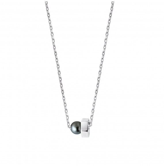 Simply Pearly Chain (Black Pearl)