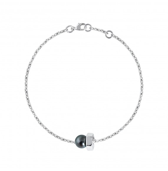 Bolt bracelet (Black Pearl)