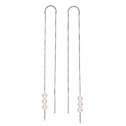 Long Rosary Earrings