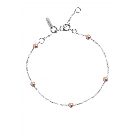 Bracelet Give me 5 perles roses