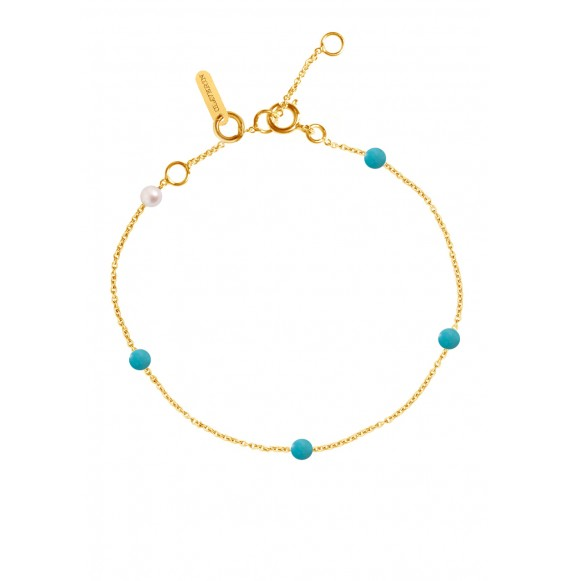Bracelet Blue Give me 5 or jaune