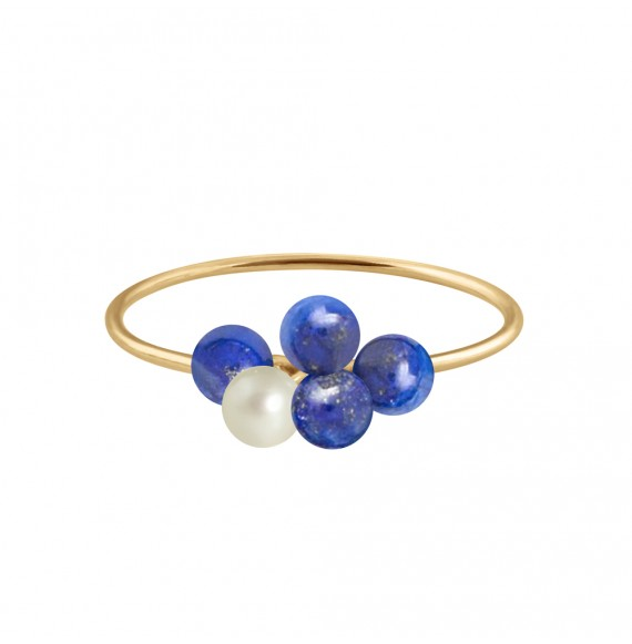 Bague Bouquet of pearls
