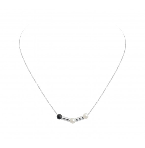 Collier White Bamboo
